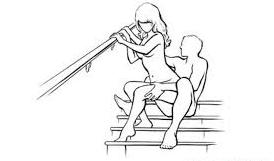 Come fare l'amore sulle scale