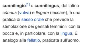 cunnilingus wikipedia