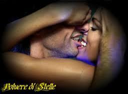 bacio mordicchiato