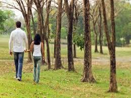 passeggiare dopo aver fatto l'amore