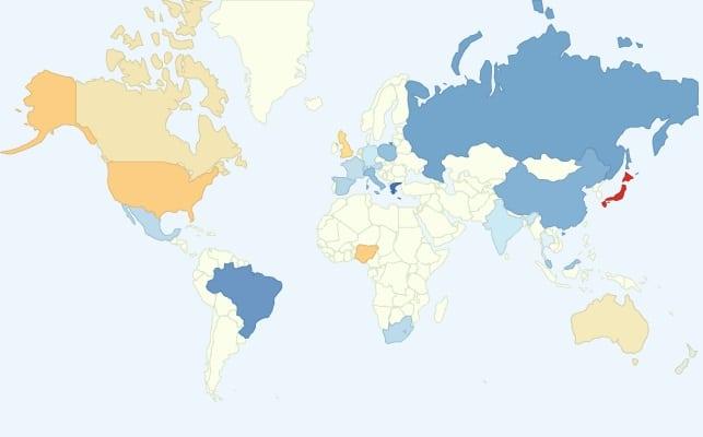 In che Paese si Fa Sesso Più di Frequente? Qual è la Giusta Frequenza di Rapporti Sessuali nella Coppia?