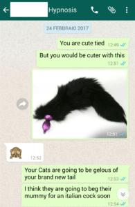 anal plug con coda